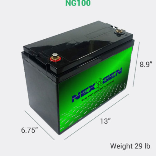 NG100 Lithium Ion Battery