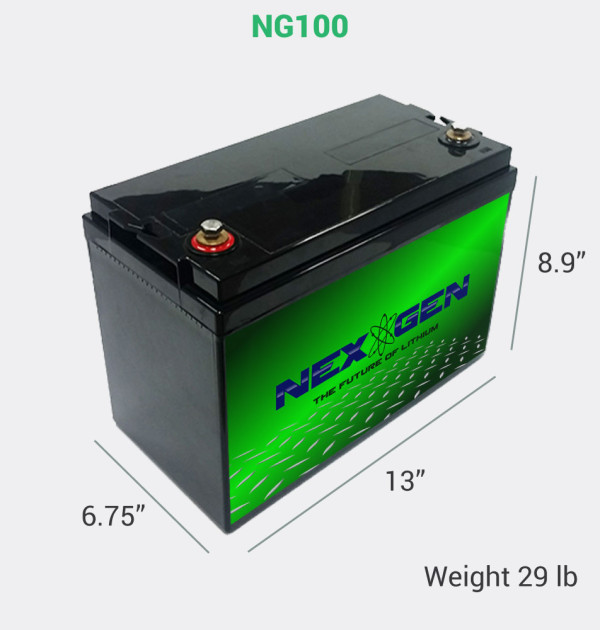 12v 100ah Nexgen Batteries